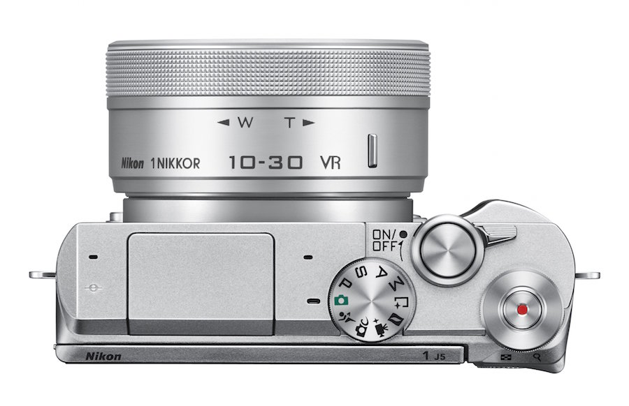 The Nikon 1 J5 Offers 4K Video and a Crazy-Fast Burst Mode